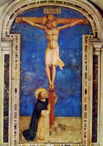 Fra' Angelico, Crucifixion in San Marco cloister