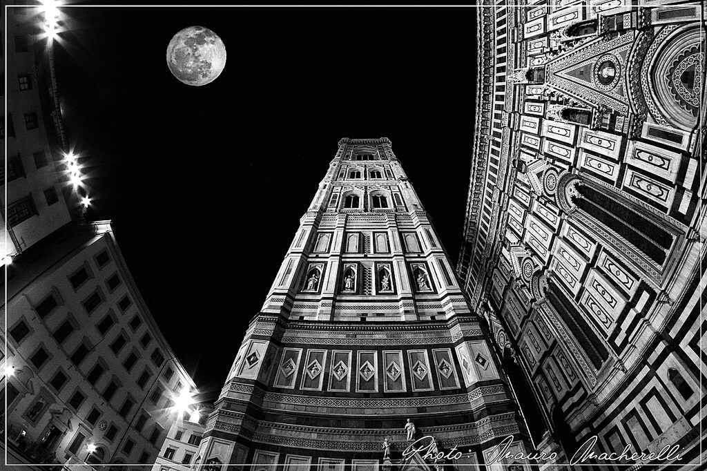 A stunning perspective of Giotto's campanile