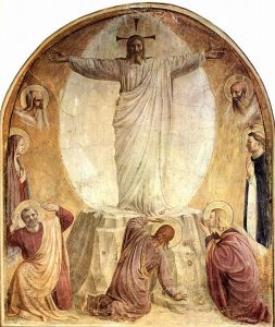 Fra'Angelico, Transfiguration, freso in San Marco Convent in the friars' cells