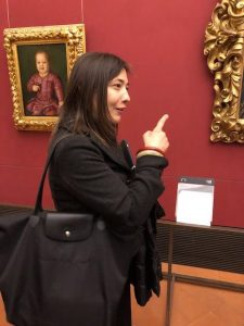 Isabella, private tours of Florence