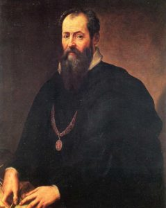 Giorgio Vasari, architect of Uffizi Gallery