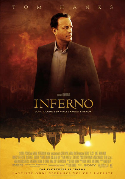 Florence as a movie set: Inferno