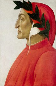 Dante Alighieri (Portrait by Sandro Botticelli, private collection)