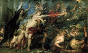 Pieter Paul Rubens, The horrors of the war (1637-38), Palatine Gallery.