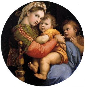 Raphael, Madonna of the Chair (1513), Palatine Gallery
