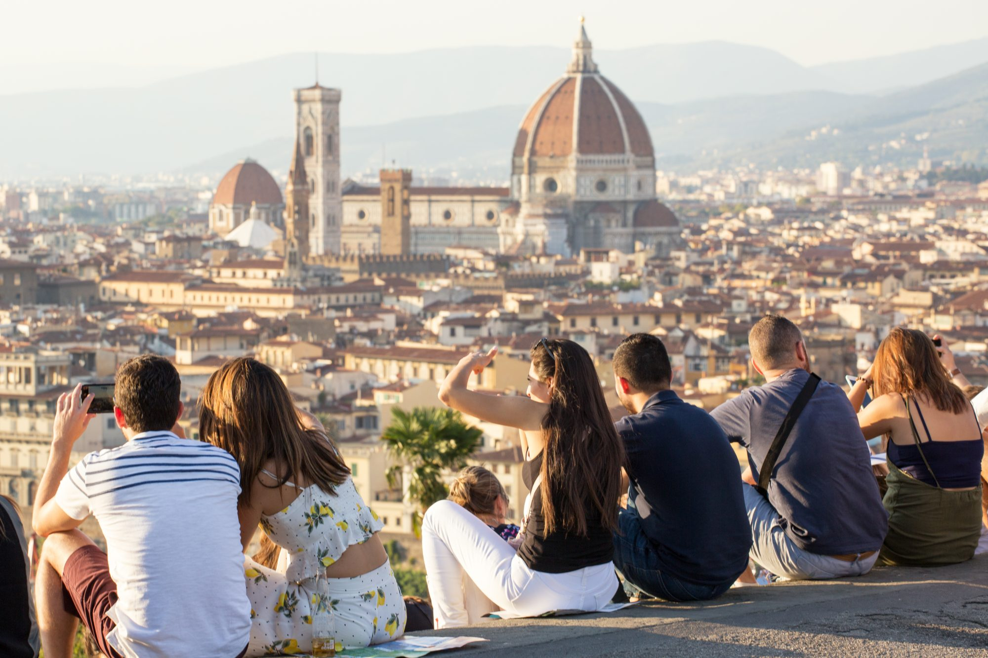View of Florence from Piazzale Michelangelo