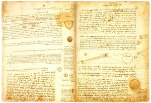 Leonardo's Codex Leicester at the Uffizi