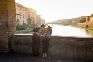 Tour of Florence to learn Italian