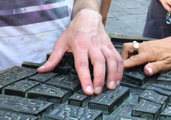 A tour of Florence for the visually impaired